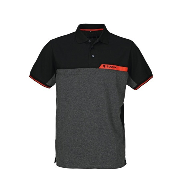 Polo Team Black SUZUKI Homme visuel 1