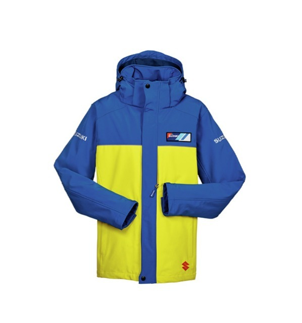 Veste imperméable Team Jaune
