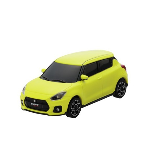 Swift sport miniature jaune