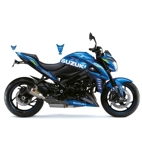 KIT DECO GSX-S 1000 ECSTAR BRILLANT BLEU